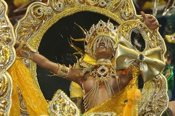 Самба ди Жанейро: фото карнавала в Рио