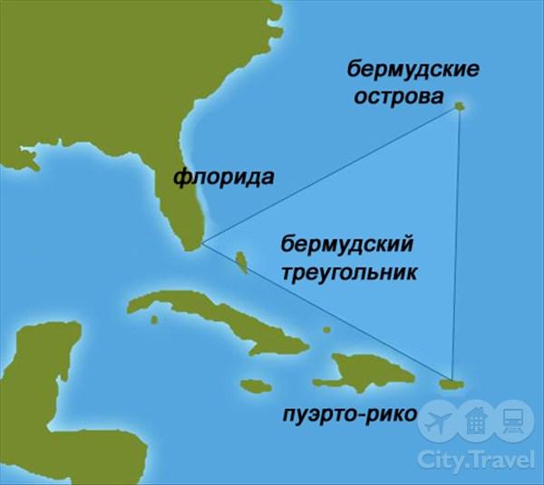 10 гипотез о тайне Бермудского треугольника