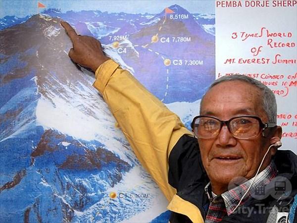 Самые пожилые рекордсмены в туризме
