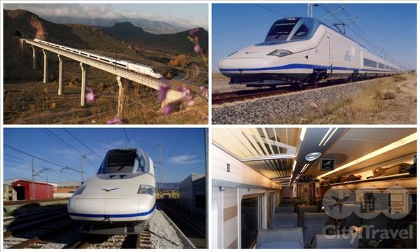 Самые быстрые поезда Европы