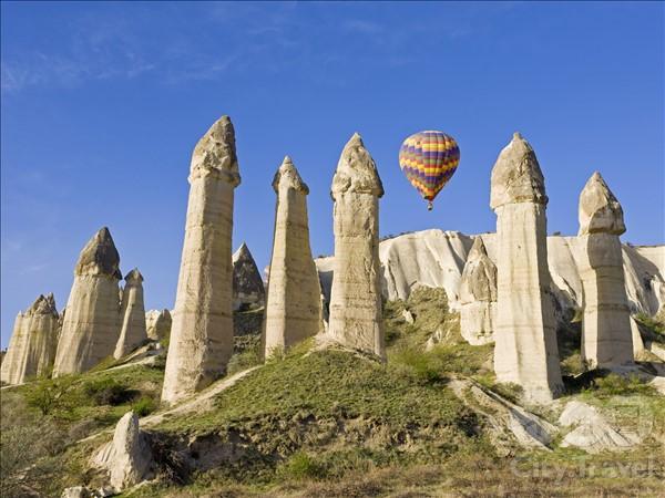 Каппадокия - вид с воздушного шара