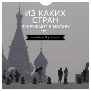 Результаты исследования: из каких стран приезжают в Москву