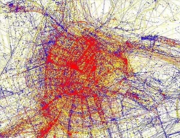 карты притяжения амстердам