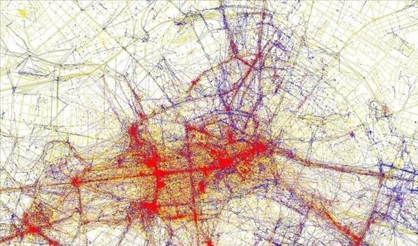 карты притяжения берлин