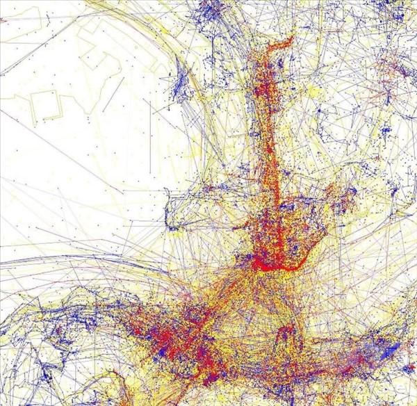 карты притяжения гонконг