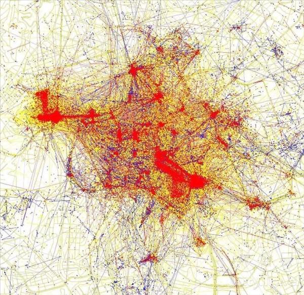 карты притяжения рим