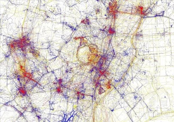 карты притяжения токио