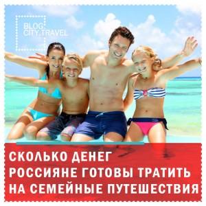 Сколько денег россияне готовы тратить на путешествия