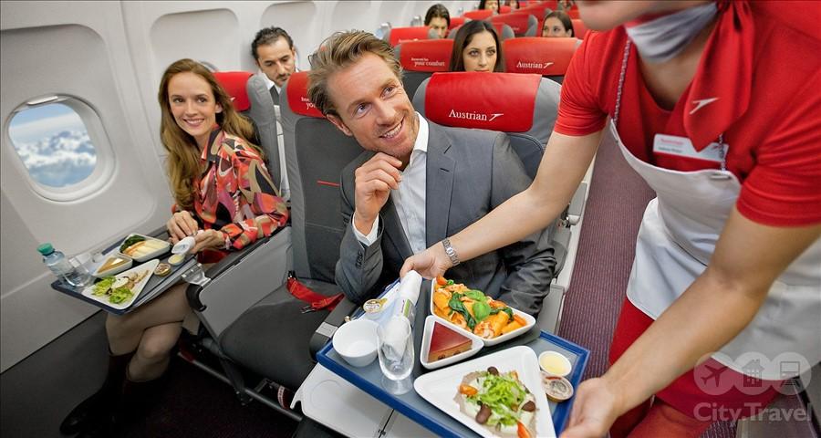 еда в самолете1