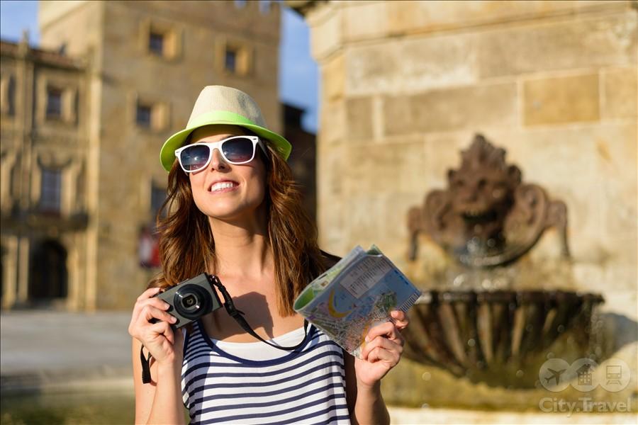 соло-туристка