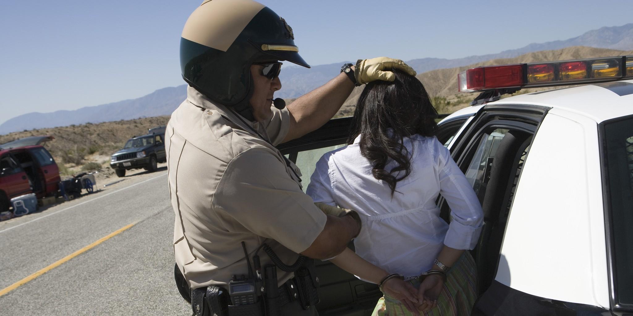турист арестован