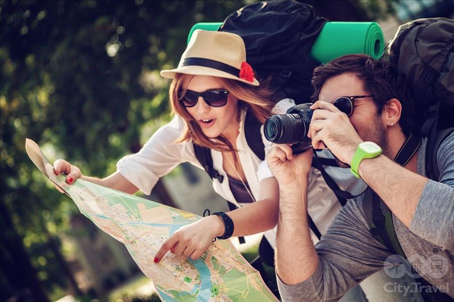 начинающие туристы