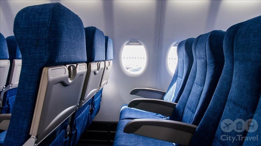 кресла самолета